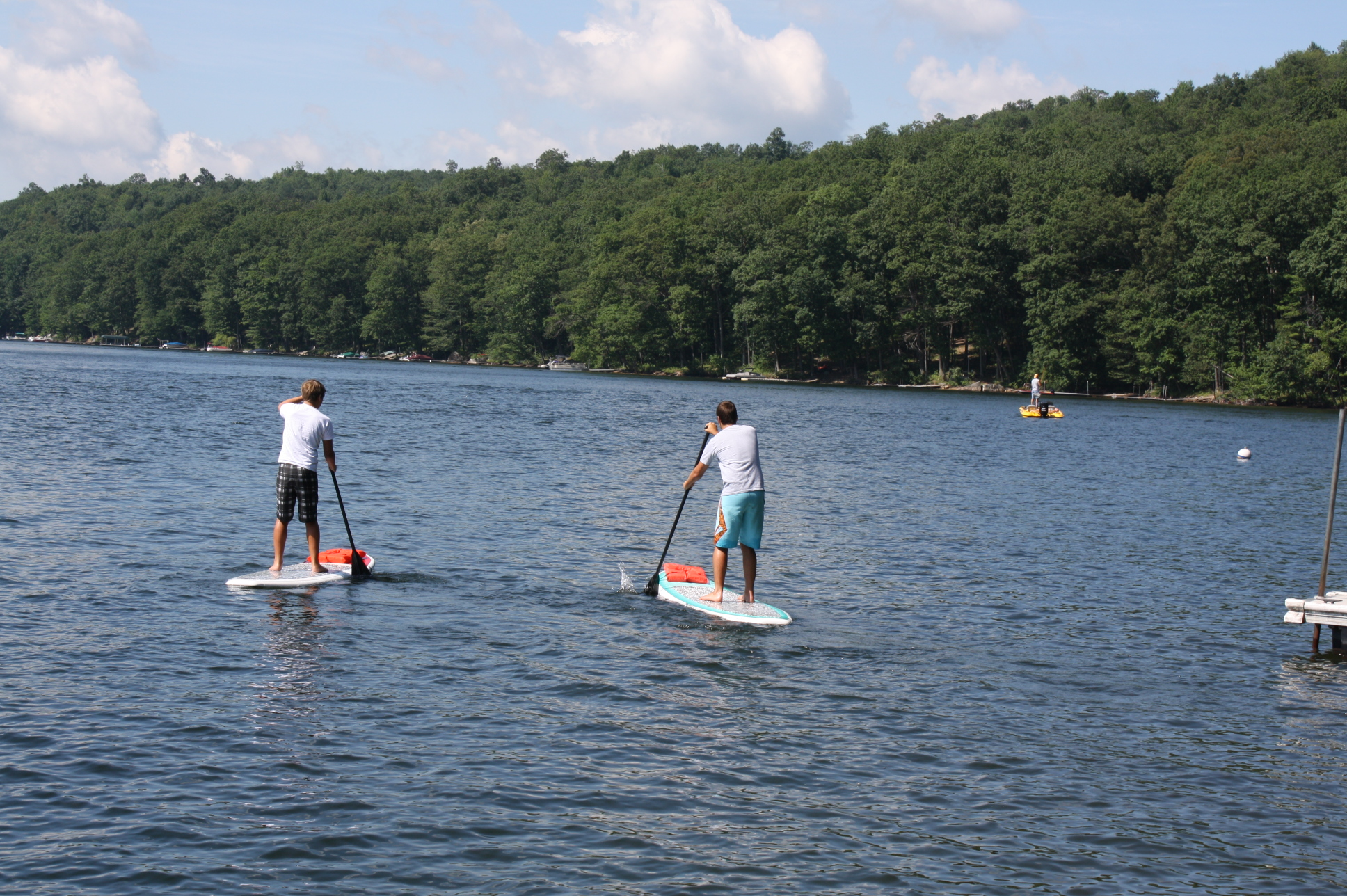 Paddleboarding Deep Creek Lake