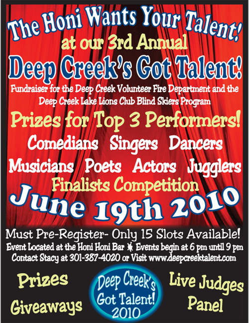 Deep Creek Lake's Got Talent